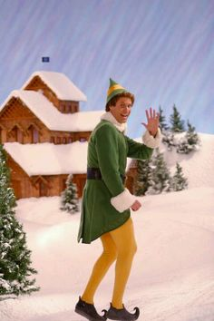 """""""Buddy the Elf! What's your favorite color?"""" What Boone and I say whenever the phone rings. .."""