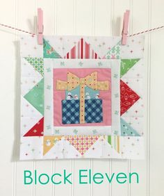 Cozy Christmas Sew Along - Week Eleven - Block Eleven!! | Bee In My Bonnet | Bloglovin' Quilted Christmas Gifts, Christmas Blocks, Quilted Gifts, Cozy Christmas, Christmas 2016, Christmas Quilt Patterns, Christmas Quilting, Christmas Embroidery, Christmas Sewing