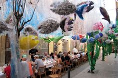 Festa Major de Gracia Barcelona, Fair Grounds, Deco, Design, Shop Displays, Thanks, Party, Dekorasyon, Deko