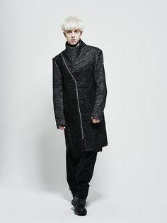 High neck coat Byungmun Seo
