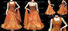 Modern dance dress model no. 1397