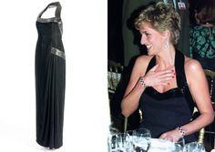 Catherine Walker black beaded silk-velvet evening dress   Kensington Palace has honoured the late Princess Diana in a brand-new exhibition of her greatest looks.   Fashion Exhibition | Princess Diana | Kensington Palace