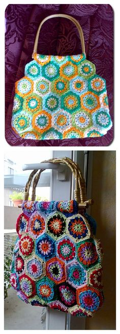 Crochet Mamy Bag Free Pattern