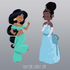 ilustracoesdisney-supergna-princesas-jasmine-tiana