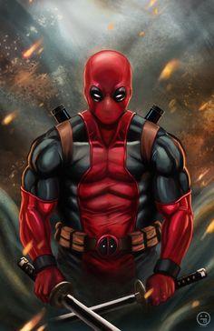 Deadpool by AndrewKwan