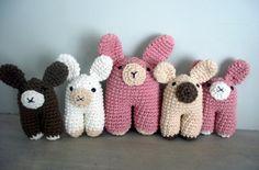 Conejos, conejitos! Amigurumis