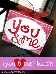 you & me block tutorial