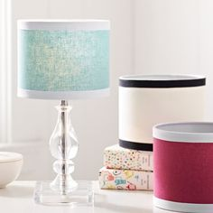 Mini Acrylic Lamps   PBteen