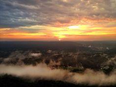 Sunset or sunrise? Gorgeous either way!