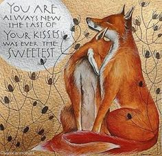 Original watercolour and gouache painting by Sam Cannon featuring two foxes and words by John Keats Art Fox, Fuchs Baby, Fuchs Illustration, Sam Cannon, Illustration Inspiration, Fantastic Fox, Fox Pictures, Arte Popular, Fantasy Art