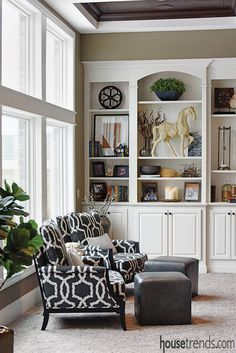 A custom home design creates the perfect retreat for an active family