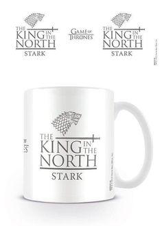 Juego de tronos  rey de la taza de cerámica del norte