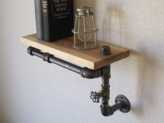 Stout Hickory with Valve Pipe Shelf