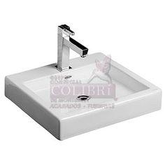 """Descripcion: Lavabo Kub -URREA- Caracteristicas:  • lavabo tipo vessel • Sin rebosadero • Disponible en 8"""", 1 taladro y sin perforación"""