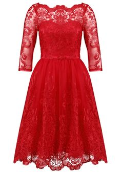 chi chi london navy dress, Chi Chi London AVIANA - Cocktail dress / Party dress - red Women Cocktail Dresses, chi chi london jannah dress Online Here