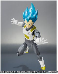 Super Saiyan God Super Saiyan Vegeta SH Figuarts Action Figure reaching
