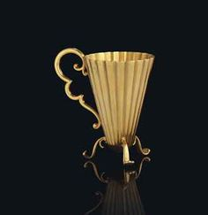 Fabergé Miniature Gold Cup circa 1890.   .....................................Please save this pin.   ............................................................. Click on this link!.. http://www.ebay.com/usr/prestige_online