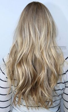 "Don't want to go dark, I like my blonde hair, but I want to get away from my ""golden/sun bleached"" Summer hair and move towards a more ""Winterish Frost Blonde""....I think this tone/color would work. by denise.su"