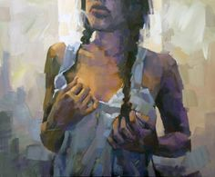"Alexander Ilichev; Painting, ""GIRL"", SaatchiArt.com"