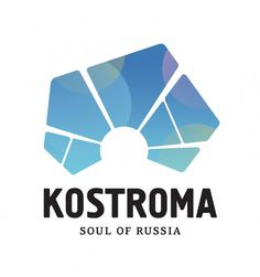 This Kostroma City Logo has a nice coloring, although the shapes reminded me of a fragment from the Macedonian flag :)