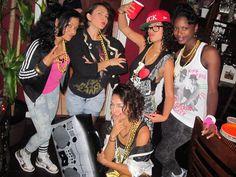 80s women hip hop fashion  sc 1 st  Pinterest & The Decades of Hip Hop Fashion u2013 The 70u0027s u0026 Early 80u0027s | THE 5TH ...