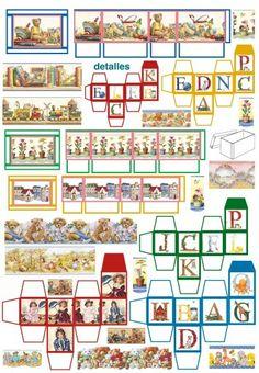 Miniature Printables - Blocks.