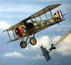 1918 10-23 22 Aero Squadron SPAD XIII Jacques Swaab