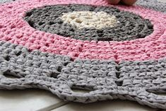 Kertun kotoilu: Lotta-matto Blanket, Crochet, Fashion, Moda, Fashion Styles, Chrochet, Fasion, Rug, Crocheting