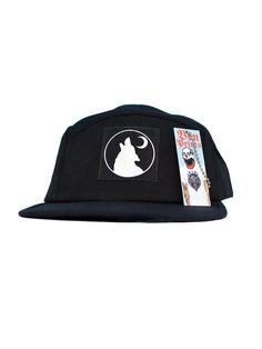 Wolf And Moon #FIVEPANEL By BenPrints
