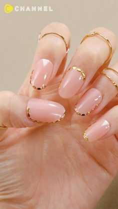 Chic Nails, Classy Nails, Stylish Nails, Trendy Nails, Pink Nail Art, Cute Acrylic Nails, Pink Nails, Art Nails, Witchy Nails