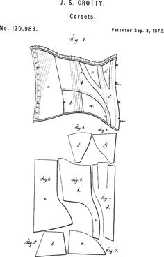 corset pattern generator just enter your measurements and