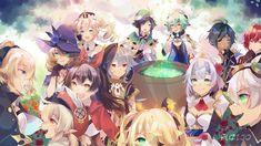 genshin impact by Fuzijo on DeviantArt Legend Of Zelda Breath, Albedo, Cute Anime Character, Anime Art Girl, Anime Girls, Cute Art, Character Design, Animation, Fan Art