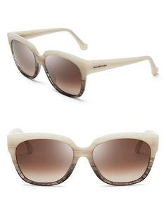 Balenciaga Oversized Wayfarer Sunglasses