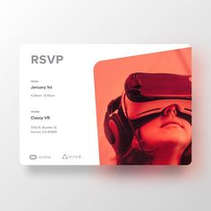 "48 Likes, 2 Comments - Eiman Design Co (@eimandesignco) on Instagram: ""Prettier RSVP card for SpringboardVR's new online booking system. Coming in 2018!…"""