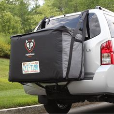 Rightline Gear Cargo Saddlebag - The Rightline Gear Cargo Saddlebag rests perfectly on the back of your SUV or minivan whether you have a roof rack or not! This bag is aerodynamically. Camping Survival, Survival Prepping, Survival Gear, Survival Skills, Survival Quotes, Wilderness Survival, Survival Tattoo, Survival Gadgets, Survival Videos