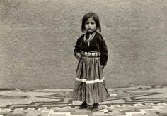 NAVAJO GIRL , circa 1920