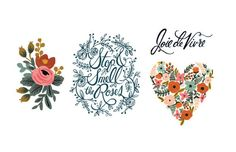These are the prettiest temporary tattoos we've ever seen!