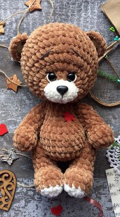 Most current Totally Free 41 Best Cute Amigurumi Crochet Patterns Ideas for This Season 2019 Part 11 Tips Just about all cost-free crochet amigurumi styles as well as free crochet pattern. Crochet Teddy Bear Pattern, Crochet Animal Patterns, Stuffed Animal Patterns, Crochet Animals, Crochet Doll Clothes, Crochet Dolls, Crochet Diy, Crochet Ideas, Crochet Braids