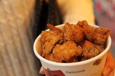 Street Food in Jiufen: Fried Mushrooms