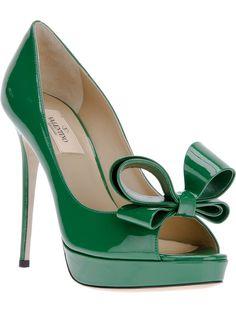 #VALENTINO #shoes #peeptoe #highheels