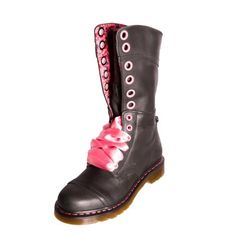 Dr Martens 12108001 Womens Ladies Triumph 1914 W Black Leather Boot