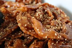 Chebakia, a honey and almonds pastry, a Ramadan essential in Morocco