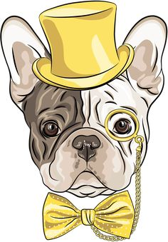 66 Ideas For Wall Paper Cat Hipster Art Prints Cute Drawings, Animal Drawings, French Bulldog Drawing, Tableau Pop Art, Art Watercolor, Hipster Art, Dog Illustration, Arte Pop, Cartoon Dog