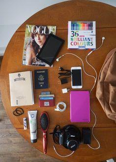 5 necessities for an international flight carry on
