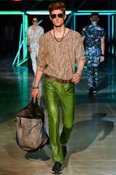 Roberto Cavalli Spring-Summer 2015 Men's Collection