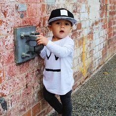 Jus hangin' on the corner buddy  | 252 | Jet Black | $25 Snapbacks | Free Domestic & Global Shipping #popnoggins #perfectlypaisley #snapback #snapbacks #swag #fashion #cap #hat #headwear #dope #streetwear #babyhats #babyswag #babyfashion #babygift #instababy #instakids #toddlerswag #toddlerlife #toddlerfashion #kidsfashion #fashionkids #kids #kidsstyle #kidswear #kidsclothes #kidswag #stylish_cubs #kidsootd #ootd
