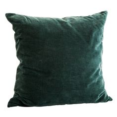 Bottle Green Velvet Cushion ($53) ❤ liked on Polyvore featuring home, home decor, throw pillows, colored bottles, green toss pillows, green home decor, green home accessories and velvet accent pillows