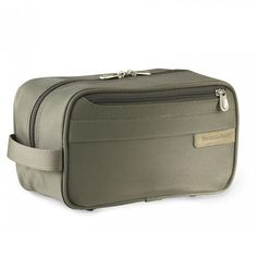 Briggs & Riley Classic Toiletry Kit. This is a BuyMeOnce product which means it's best in show when it comes to longevity.
