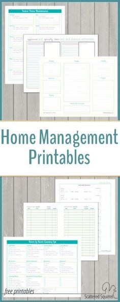 I would be lost without my homemangement binder. It is such a big help when it comes to managing home and family can be a bit of a chore. The home management printables are sure to be a big help in keeping track of everything,