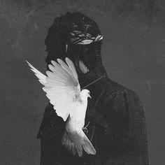 Pusha T's Album Cover Art 'Darkest Before Dawn'